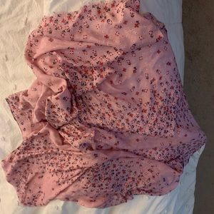 Pink floral Vera Bradley scarf/wrap